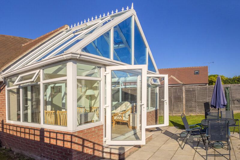 Glass Conservatory in Kent United Kingdom